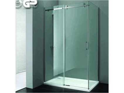 Dvoumetrový obdélníkový sprchový kout bez vaničky - vystavený vzor na prodejně