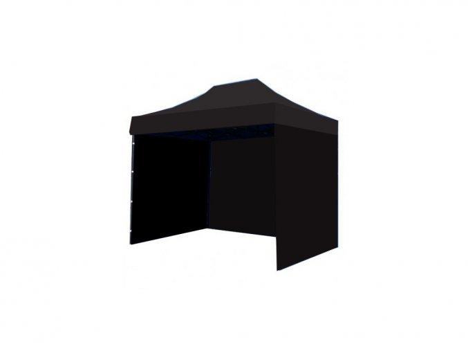 Nůžkový stan 3X3 černý HQ