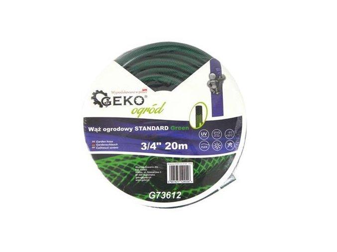 """Záhradní hadice zelená 3/4"""" 20m standard"""