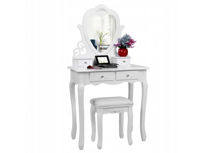 Toaletní stolek Princess WHITE