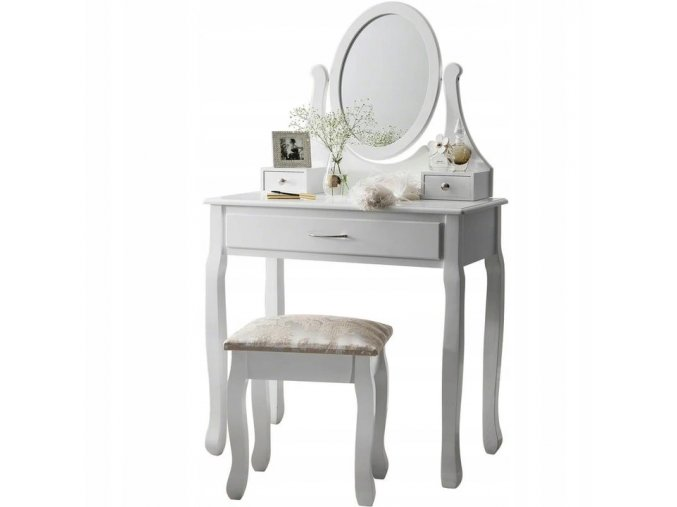 Toaletní stolek madamme  + dárek LED make-up zrcadlo