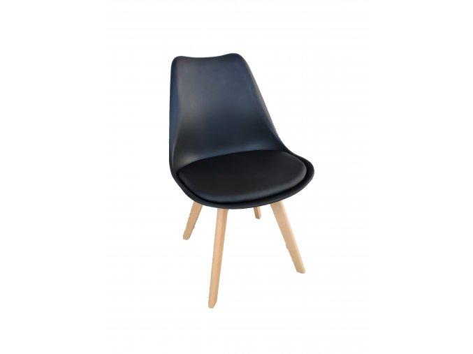 Židle černá skandinávsky styl BASIC