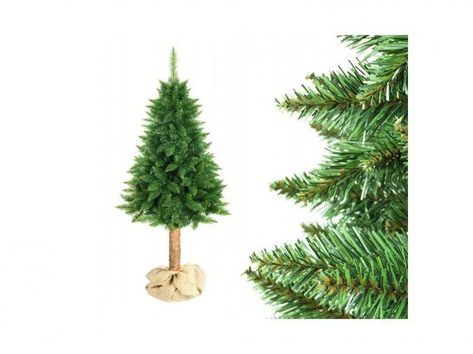 Vánoční stromek na pařezu Jedle 180 cm Classic