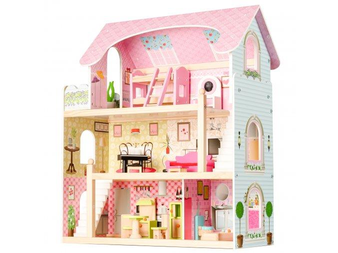Pohádkový domeček pro panenky Rezidence