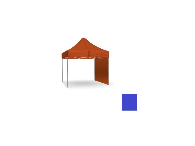Plná stěna modrá 2x2 m SQ/HQ/EXQ