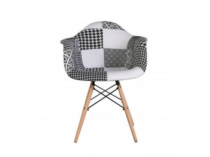 Patchworková židle Cruella
