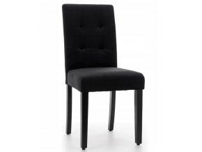 zamatova jedalenska stolička čierna (1)