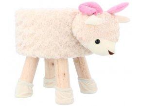 detská taburetka ovečka