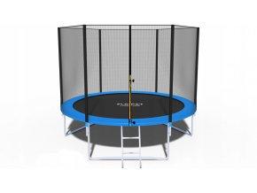 Trampolína 312cm + ochranná síť a schůdky