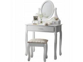 Toaletní stolek Madamme WHITE