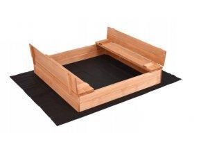 Impregnované pískoviště s lavičkami 140cm + DÁREK