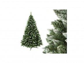Vánoční stromek Jedle 120cm Luxury Diamond