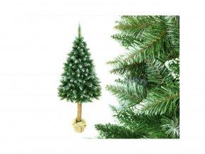 Vánoční stromek na pařezu Jedle 180 cm Luxury Diamond