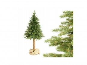 Vánoční stromek na pařezu Smrk PE 180 cm Royal