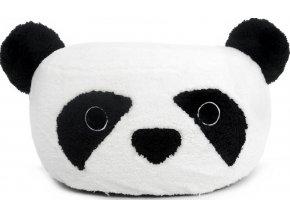 Nafukovacia plyšová taburetka Panda