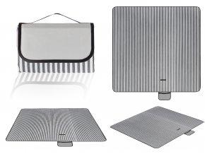 Pikniková deka 150x200cm Stripe