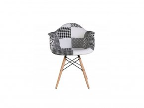 Sada patchworkových židlí Cruella 3+1 ZADARMO!