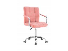 kancelarska stolicka pink rose(1)