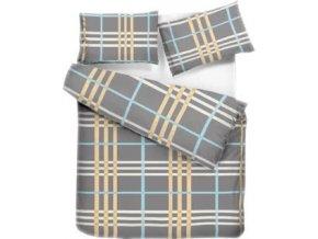 bavlnene obliecky karovane color
