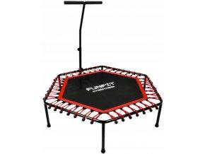 fitness trampolina 130cm red(1)