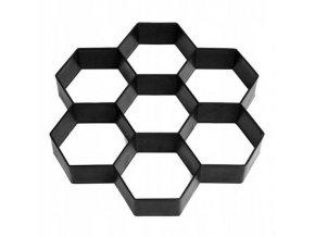 Forma na betonovou dlažbu 29x29x4 cm Flos