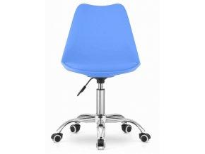 Kancelarska stolicka modra skandinavsky styl BASIC 1