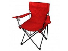 Kempingová rozkládací židlička RED