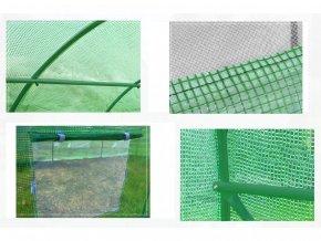 Konstrukce k zahradnímu fóliovníku 2x4,5m PREMIUM GREENY