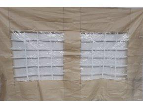 Stěna k stanu - 3m béžová s oknem SQ / HQ / EXQ