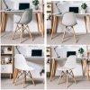 Židle šedá skandinávský styl CLASSIC