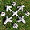 Plastové rohy a spojky k stanu 3x3m