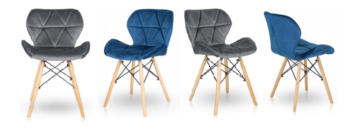 sametová židle