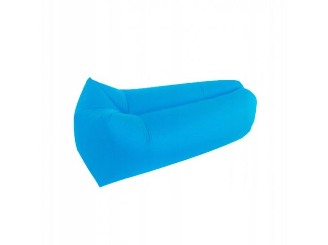 Nafukovací vak modrý - LAZY BAG
