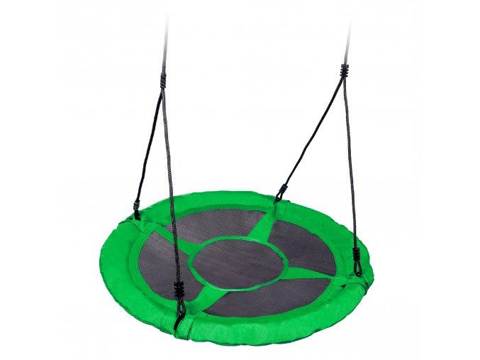 Hojdačka - bocianie hniezdo zelené 95cm