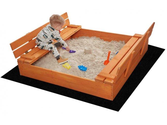 Impregnované pieskovisko s lavičkami 180cm + DARČEK