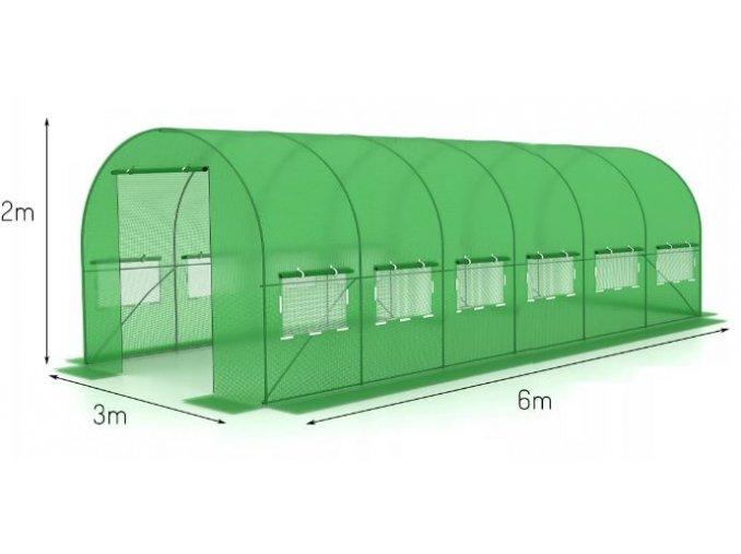 Fólia na fóliovník 3x6m s UV filtrom