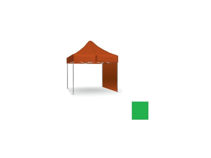Plná stena zelená 2,5x2,5 m SQ/HQ/EXQ
