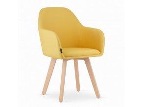 Jedálenská stolička Yellow Fame