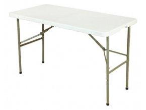 Cateringový skladací stôl 122x61x74cm White