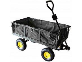 Záhradný vozík 300kg Garden Black