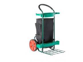 Prepravny vozik na zahradne naradie