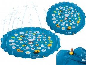 detská fontána modrá