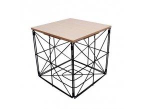 drôtený konferenčný stôl