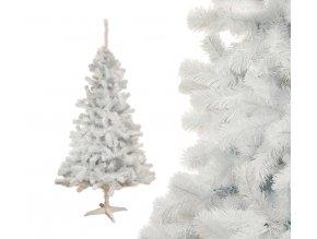 biely vianočný stromček 1
