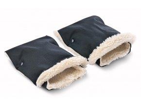 rukavice na kočiar čierne