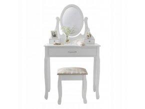 Toaletný stolík Madamme White