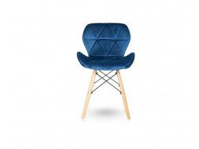 Zamatová stolička ZAFÍR