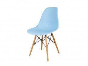 Stolička modrá škandinávsky štýl CLASSIC