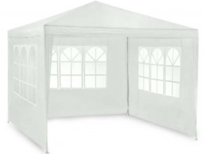 Záhradný altánok 3x3m + 3 steny WHITE 3