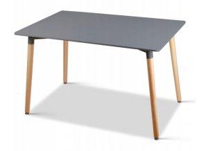 Jedálenský stôl Grey MODERN 120x80cm